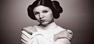 Star Wars'un Prensesi Leia Hayata Veda Etti.