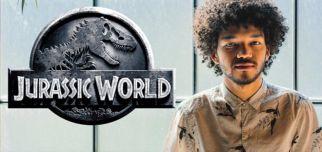 Genç Yıldız Justice Smith Jurassic Park World 2'de....