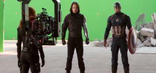 Kamera Arkası Çekimleri ile Captain America: Civil War